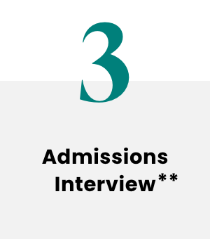 Admissions Interview